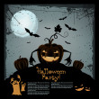 Halloween illustration - Stockvectorbeeld