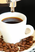 Coffeetime in the morning — Stock Photo