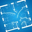 Blueprint background — Stockvectorbeeld