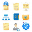 Icons for business metaphor — Stock Vector #7223555