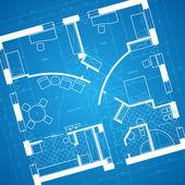 Blueprint background — Stock Vector