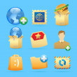 Icons for concepts — Stock Vector