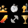 Icons for sport — Stockvector #7685937