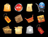 Icons for retail — Stock vektor