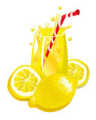 Lemonade — Stock Vector