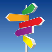 Directional Signs — Stockvector