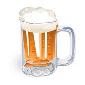 Beer Mug (illustration) — Vetor de Stock