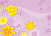 Flowers Background (illustration) — 图库矢量图片
