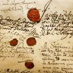 Ancient Manuscript — Stock Photo
