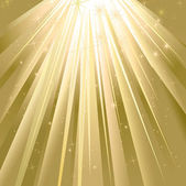 魔法の光 — ストックベクタ