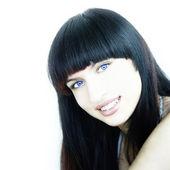 Blue Eyed Beauty — Stock Photo