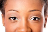 African beauty eyes — Stock Photo
