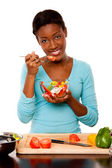 Health Conscious young woman — Stock Photo