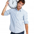 Time is the most valuable thing a man can spend - Stock Photo