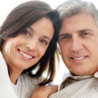 Royalty-Free Stock Photo: Closeup of happy mature couple together