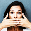 Royalty-Free Stock Photo: Speak no evil