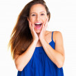 Royalty-Free Stock Photo: Surprised woman