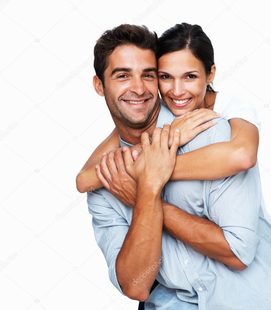 Loving couple embracing  Stock Photo #7743462