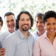 Multi ethnic business team - Foto Stock