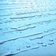 Diagonal pattern of water drops - Stock Photo