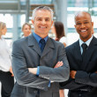 Friendly businessmen - Stock Photo