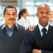 Colleague lending support - Stock Photo