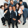 Royalty-Free Stock Photo: Successful business team posing for photo