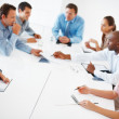 Royalty-Free Stock Photo: Board room meeting
