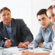 Business colleagues in a meeting - Stock Photo
