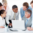 Royalty-Free Stock Photo: Diverse business group discussing new working ideas