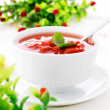 Hot fresh minestrone soup - Photo