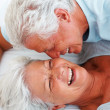 Royalty-Free Stock Photo: Senior couple in love