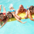 Royalty-Free Stock Photo: Happy family having fun in water