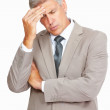 Business having severe headache - Stock Photo
