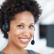 Royalty-Free Stock Photo: Attractive customer service representative