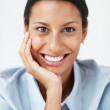 Royalty-Free Stock Photo: Confident female executive smiling