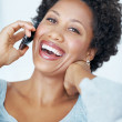 Royalty-Free Stock Photo: Woman enjoying phone call