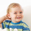 Cute little boy smiling - Foto Stock