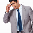 Royalty-Free Stock Photo: Business man with headache