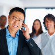Royalty-Free Stock Photo: Business man on call