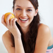 Health conscious woman - Stock Photo