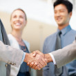 Business partnership - Stock Photo
