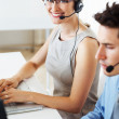 Royalty-Free Stock Photo: Call center representatives