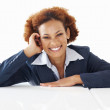 Royalty-Free Stock Photo: Smiling African American business woman