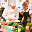 Culinary lessons - Foto Stock