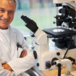 Royalty-Free Stock Photo: Smiling mature male scientist in laboratory