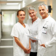 Royalty-Free Stock Photo: Friendly caring team of medical healthcare professionals