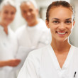 Friendly female healthcare professional - Photo