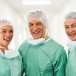 Royalty-Free Stock Photo: Successful team of medical workers together