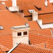 Roofs in Prague — Stock Photo